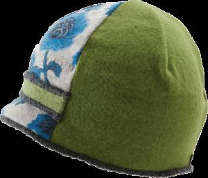 Xob Upcycled Hats - Xob Visor Blue-Green