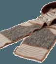 Xob pocket scarf brown