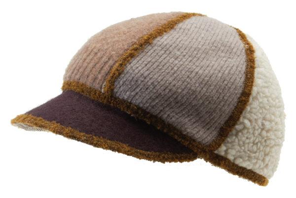xob soft visor brown-tan
