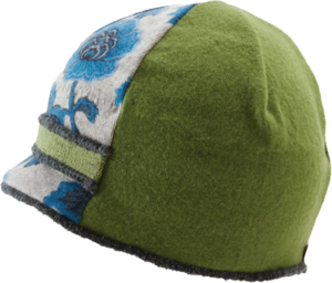 Xob Upcycled Hats - Xob Visor Blue-Green