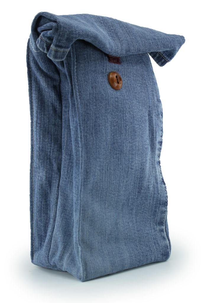 Xob Blue Jean Lunch Bag