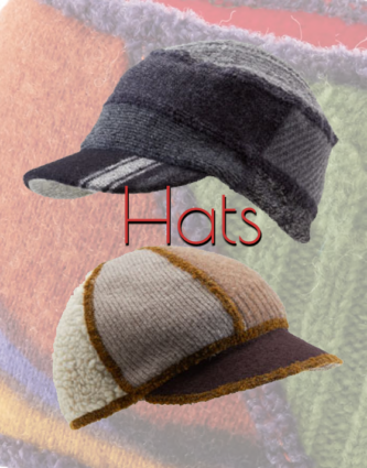 Xob Upcycled Hat Styles