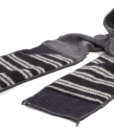 XOB Pocket Scarf black-grey