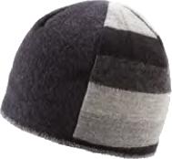 xob trio beanie black-grey