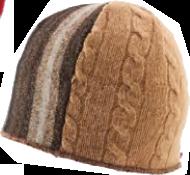 xob trio beanie brown-tan