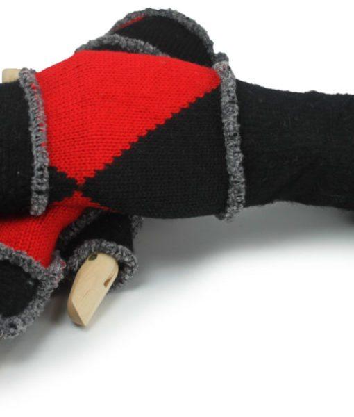 USA knit hand warmer