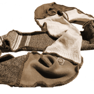 blue moon scarf brown-tan