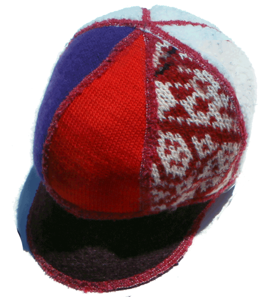 USA knit caps for kids