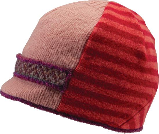 Xob Upcycled hats- Xob Visor - Brights